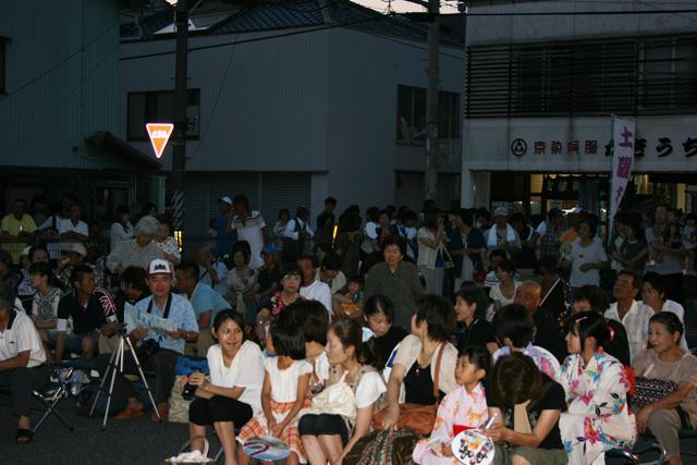 久賀保育園法王太鼓IN久賀土曜夜市2011