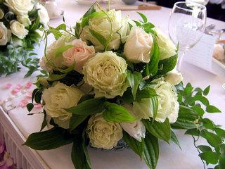 藤屋のブライダル装花