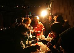 久賀ジョイカード会シクラメン交換会2009