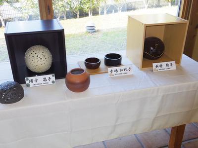 陶芸教室春季作品展