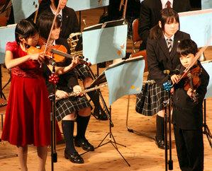 バイオリン姉弟