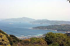 帯石からの景色