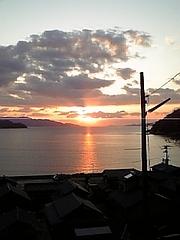 外入山田神社からの風景