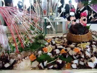 サザンセトのパーティ地魚料理