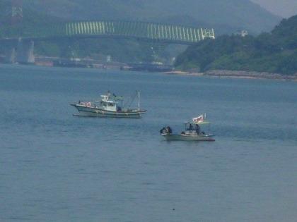 開作から眺める大島大橋