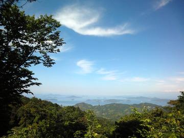 文珠山からの眺望