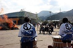 久賀どんど焼き2010