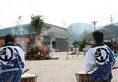 久賀どんど焼き大会2011