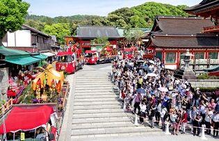伏見稲荷大社:「神幸祭」