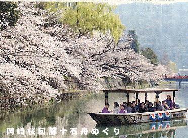 岡崎桜回廊十石舟 04'