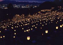 東本願寺:「東大谷万灯会」