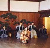 上賀茂神社:「御戸代能」