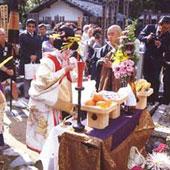 清涼寺:「夕霧祭」