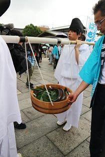 祇園祭・八坂神社奉納:「鱧まつり」 2018年