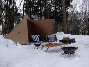 大石田 キャンプ