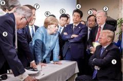 G7首脳会談 誰と誰がどういう立場なのか並べてみた
