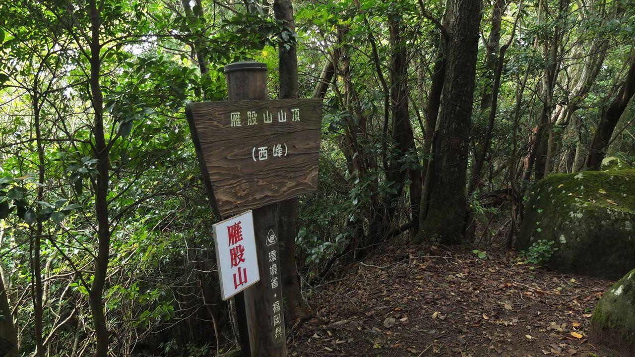 県境2座(経読岳、雁股山)は福...