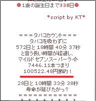 タバコ代10万円