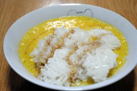 生卵納豆ご飯