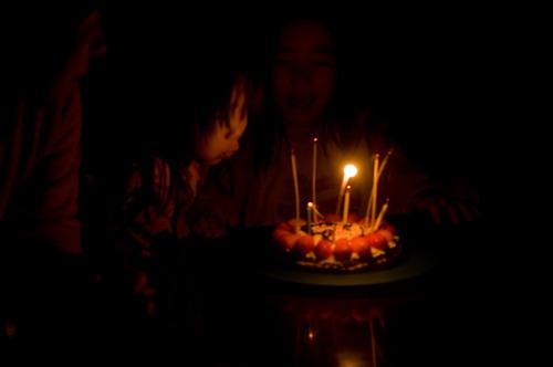 いっちー8歳ケーキ
