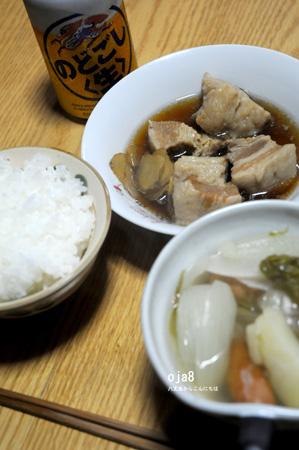 角煮とウインナー汁