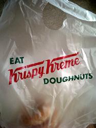 Krispy Kreme袋