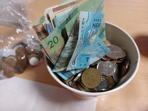 海外紙幣と硬貨