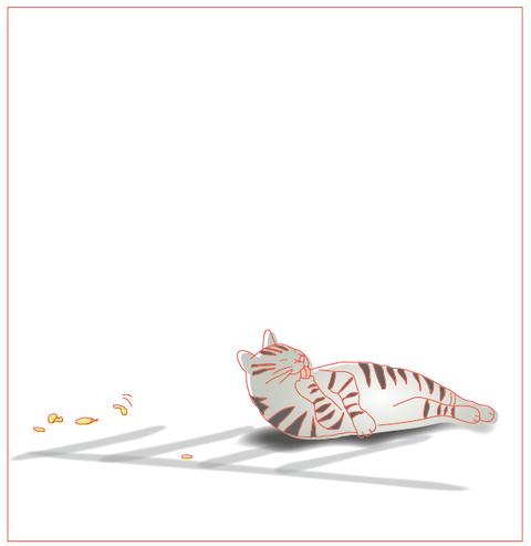 ネコとチョウ2