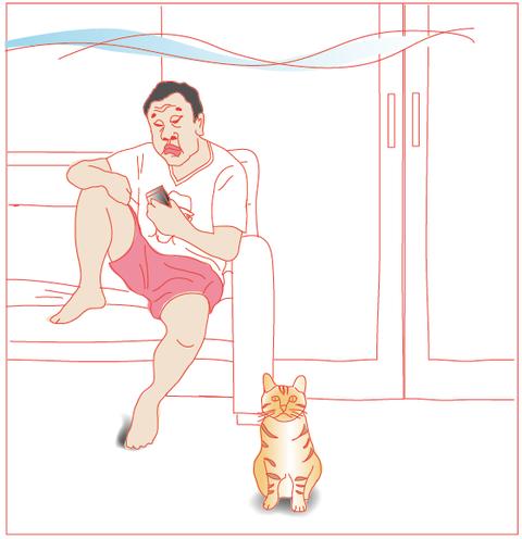 夏とネコとおじさん_5