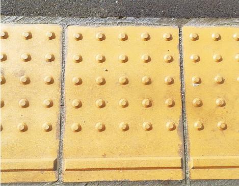 点字ブロック1