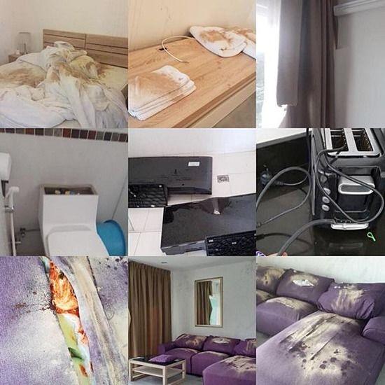 【画像】これは酷い!! 韓国人男女に部屋を貸したら破壊されてしまうwwwwwww