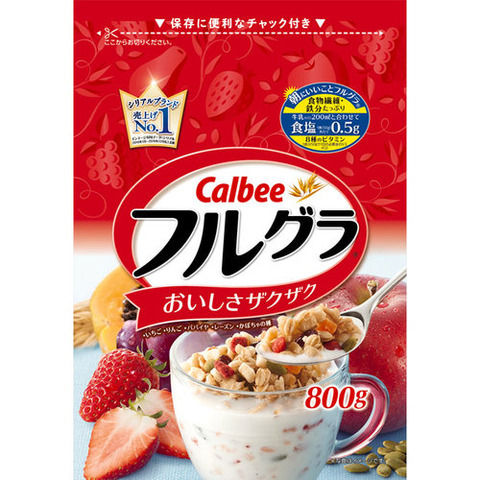 【朗報】日本の国民的朝食「フルグラ」が海外で人気爆発 輸出7倍へ