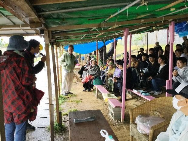 「東アジアの平和を作る!」辺野古でなぜか韓国人が座り込み抗議