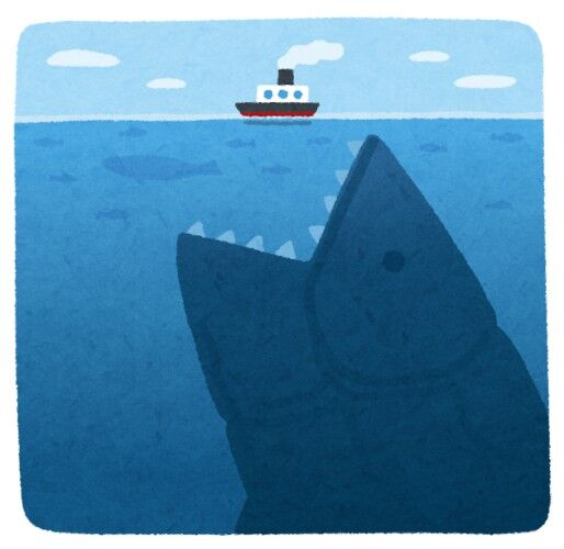 巨大生物って水中に住んでる奴ばかりだな