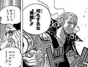 ワンピースのベンベックマンの能力//////