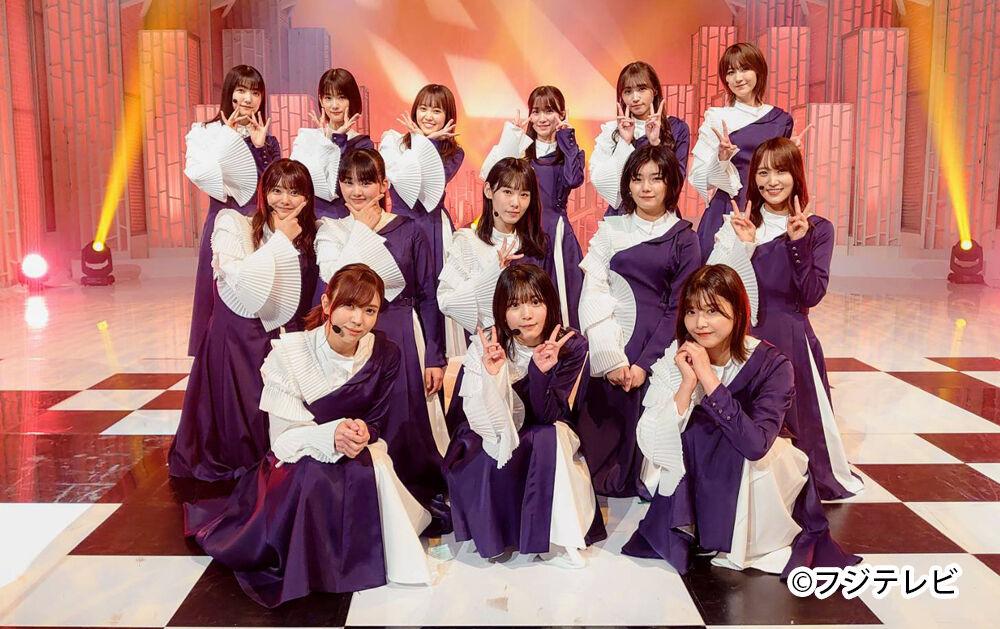櫻坂46が「MUSIC FAIR」に出演!「BAN」を披露!