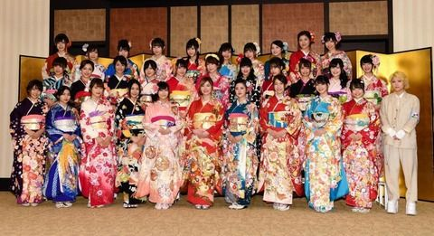 AKBグループ成人式、松井珠理奈「今年は本気で1位を」