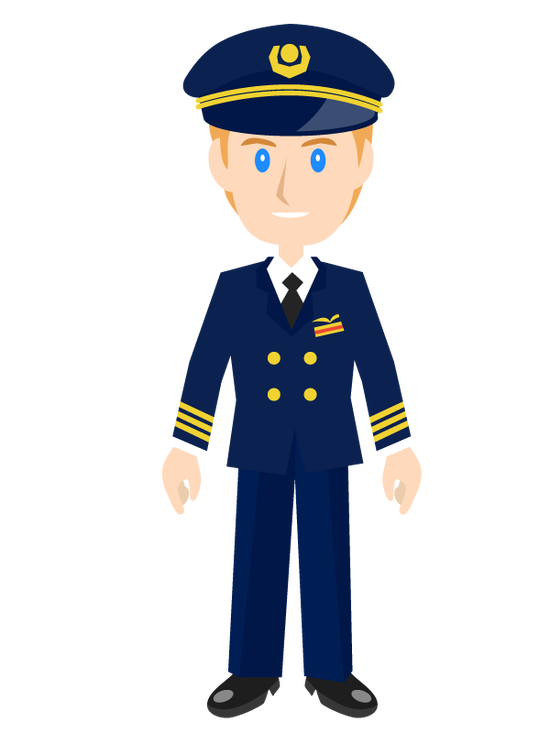 パイロット「出発しま~す」自動運転ボタンピッ。年収1,500万!