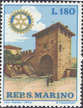 ロータリー切手