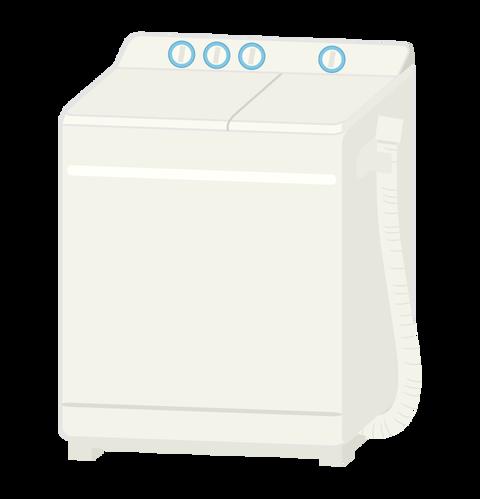二層式洗濯機1