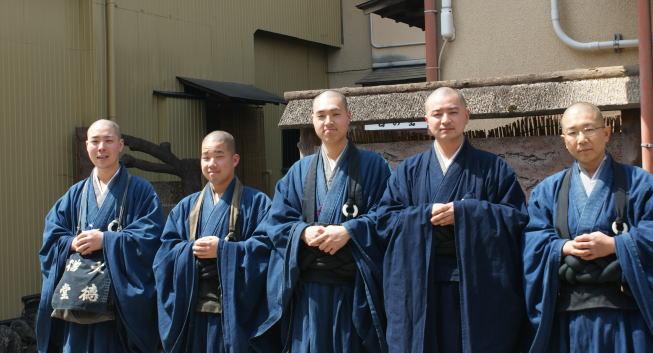 ことしも・・・大徳寺の雲水さん・・ : あかずの間のページ