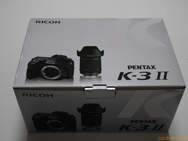 PENTAX K-3II買うた
