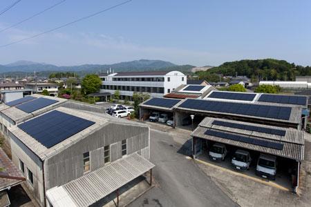 本社_太陽光発電設置