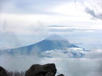 ⑭頂上からの富士山