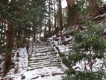 ⑪最後の急な階段