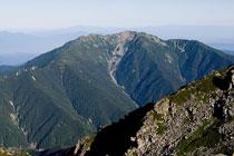 ⑦仙丈ケ岳3,033m