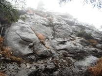 ②-2 岩場の登山道
