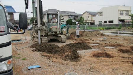 地盤改良工事1