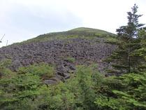 ⑧編笠山の岩