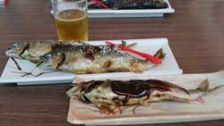 塩焼き、魚田